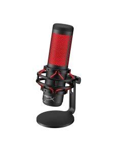 HyperX - Microphone - Computer / Game console / Professional audio - Wired HX-MICQC-BK