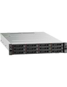 Lenovo - Server - Rack-mountable - 1 Intel Xeon Silver 4208 / 2.1 GHz - 16 GB 7X04A092LA - Imagen 1