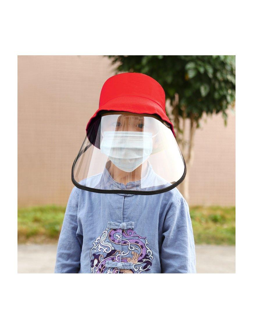 Protector de Cara para Niños con Gorro Sujetador
