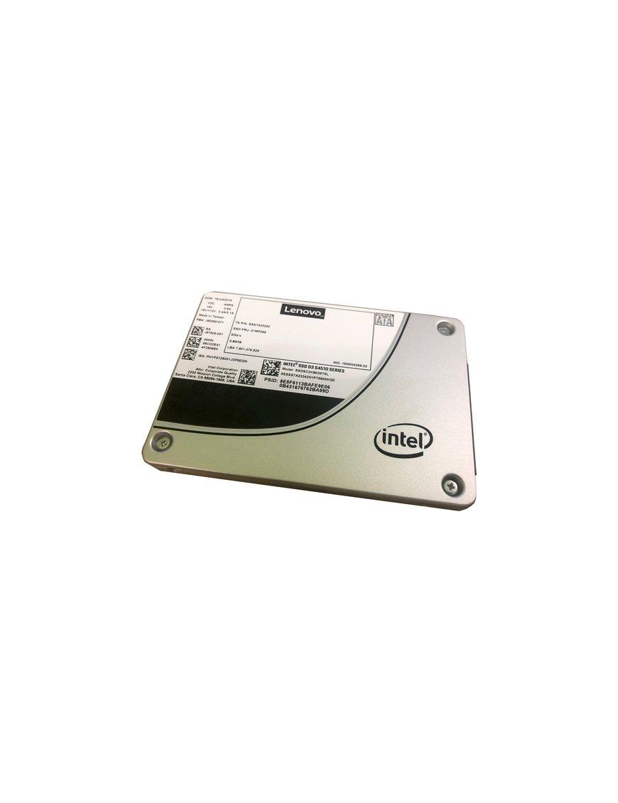 Thinksystem 2.5 Pulgadas Intel S4510 240 Gb Entry Sata 6 Gb Hot Swap Ssd - Imagen 2