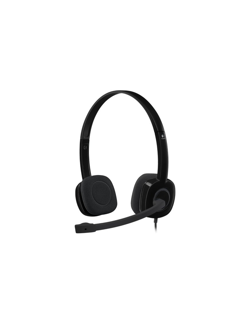 Logitech Stereo H151 - Auricular - en oreja - cableado - Imagen 1