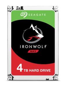 "Seagate IronWolf ST4000VN008 - Disco duro - 4 TB - interno - 3.5"" - SATA 6Gb/s - 5900 rpm - búfer: 64 MB - Imagen 1"