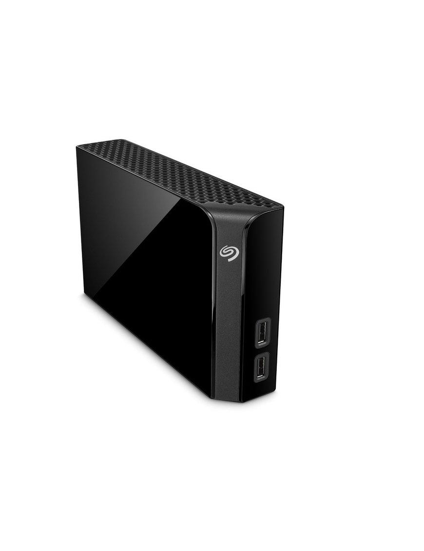 Seagate Backup Plus Hub STEL6000100 - Disco duro - 6 TB - externo (portátil) - USB 3.0 - negro - Imagen 2