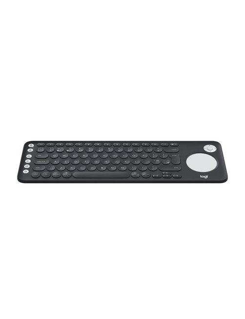 Logitech - Keyboard - Wireless - Spanish - Bluetooth - Black - intergrated touchpad - Imagen 3
