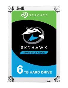 "Seagate SkyHawk Surveillance HDD ST6000VX001 - Disco duro - 6 TB - interno - 3.5"" - SATA 6Gb/s - búfer: 256 MB - Imagen 1"