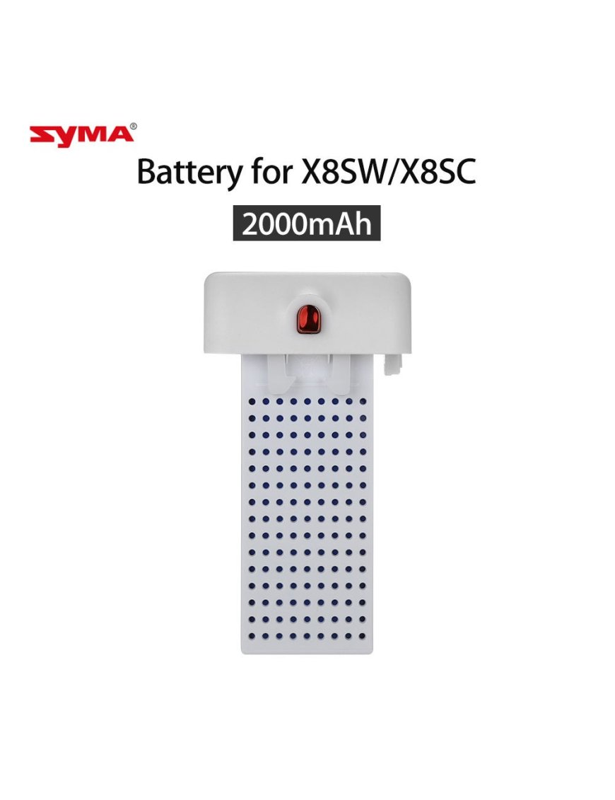Batería Drone Syma X8sw X8sc X8PRO 2000 MaH
