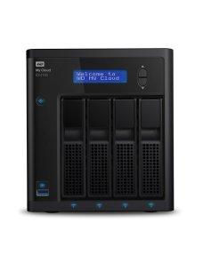 WD My Cloud EX4100 WDBWZE0160KBK - Servidor NAS - 4 compartimentos - 16 TB - HDD 4 TB x 4 - RAID 0, 1, 5, 10, JBOD, 5 Hot Spare