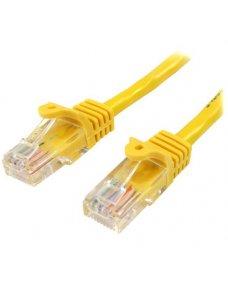 Cable Red 0.5m Amarillo Cat5e - Imagen 1