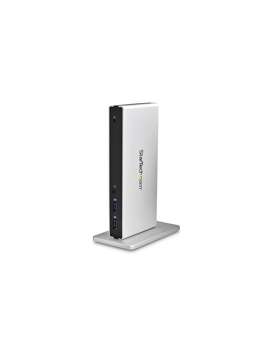 Base Conexion USB 3.0 Doble DVI Ethernet - Imagen 1