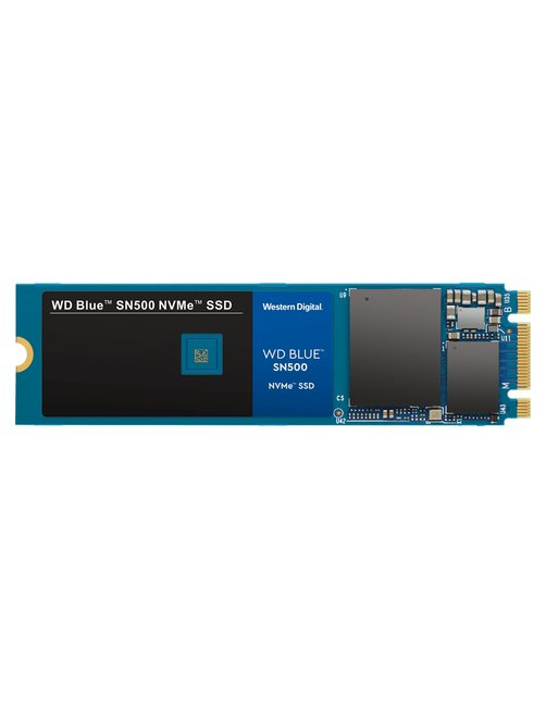 WD Blue SN550 NVMe SSD WDS100T2B0C - Unidad en estado sólido - 1 TB - interno - M.2 2280 - PCI Express 3.0 x4 (NVMe) - Imagen 1