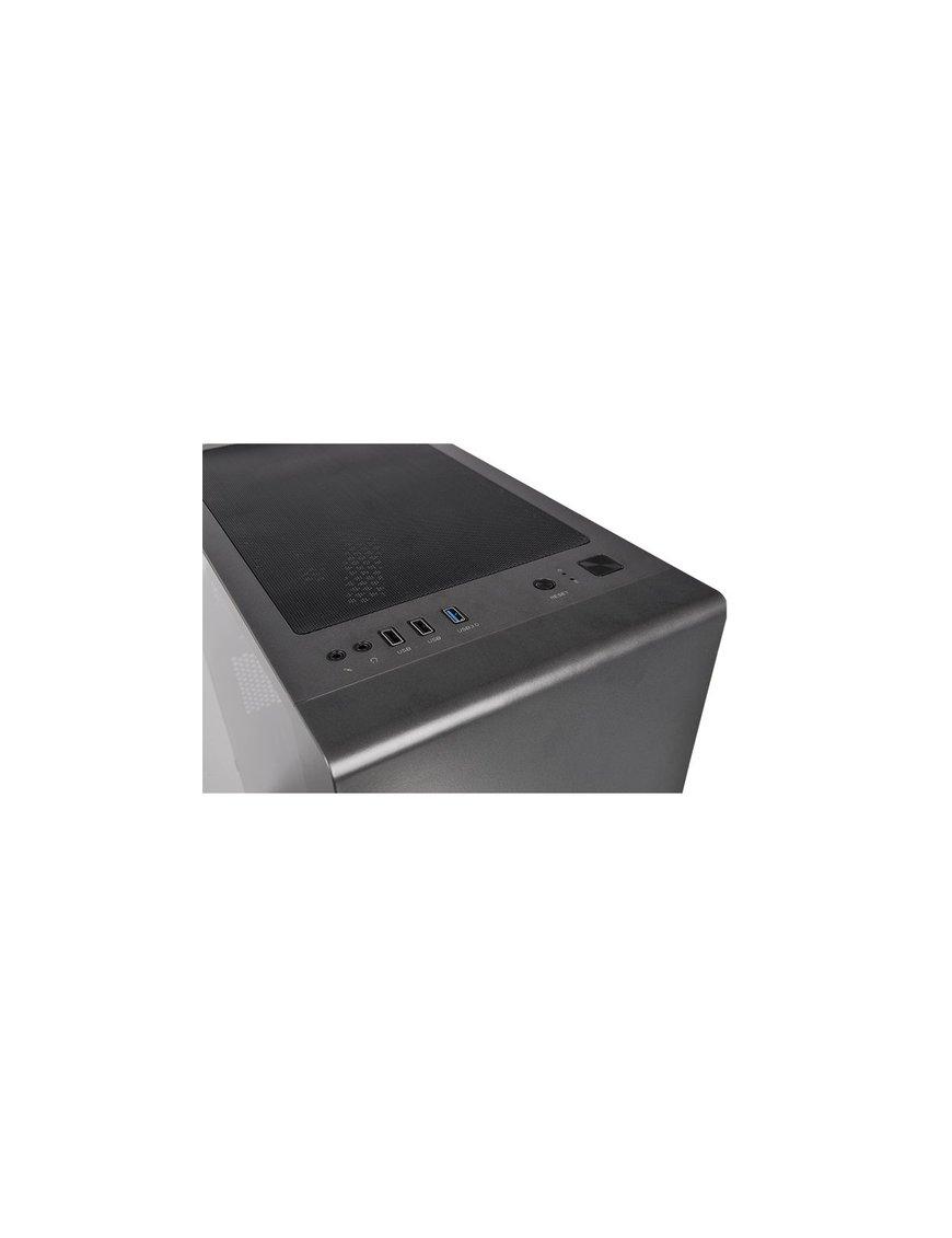 Gabinete S100 TG/Black/Win/SPCC/Tempered Glass*1/1 - Imagen 6