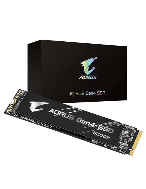Gigabyte - Internal hard drive - 500 GB - M.2 2280 - Solid state drive - Imagen 1