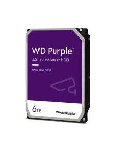 "WD Purple Surveillance Hard Drive WD62PURZ - Disco duro - 6 TB - interno - 3.5"" - SATA 6Gb/s - 5640 rpm - búfer: 128 MB - Imagen"