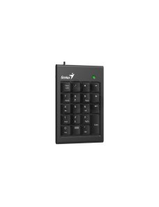 Genius - Keyboard, mouse and numeric pad set - USB - Ergonomic Design - Black 31300015400