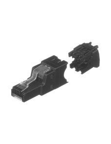 Panduit TX6A 6A UTP Field Term RJ45 Plug - Network connector - Field Term RJ45 (P) - CAT 6a - IEEE 8 FP6X88MTG
