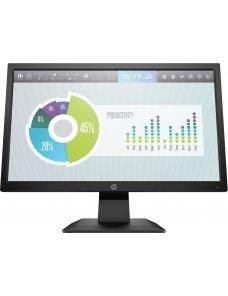 "HP P204 - LED-backlit LCD monitor - 19.5"" - 1600 x 900 - TN - HDMI / VGA (DB-15) - Black 5RD66AA#ABM"