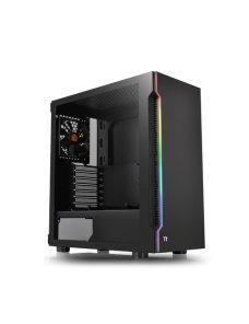 Gabinete  H200 TG RGB Black - Imagen 1