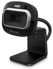 Microsoft LifeCam HD-3000 - Webcam - color - 1280 x 720 - audio - USB 2.0 - Imagen 1
