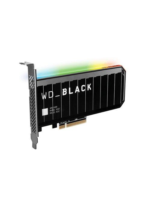 WD_BLACK AN1500 WDS200T1X0L-00AUJ0 - Unidad en estado sólido - 2 TB - interno - tarjeta PCIe - PCI Express 3.0 x8 (NVMe) - difus