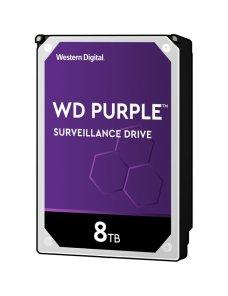 "WD Purple Surveillance Hard Drive WD82PURZ - Disco duro - 8 TB - interno - 3.5"" - SATA 6Gb/s - 7200  WD82PURZ - Imagen 1"